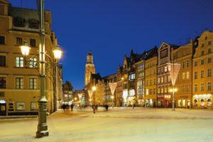 Wroclaw, op zo'n 100km afstand. De hoofdstad van Neder-Silezie